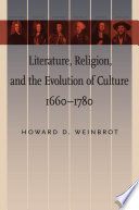 Literature  Religion  And The Evolution Of Culture  1660   1780