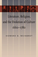 Pdf Literature, Religion, and the Evolution of Culture, 1660–1780