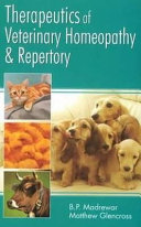 Therapeutics Of Veterinary Homeopathy Repertory