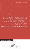 Pdf Le sport au service du développement et de la paix Telecharger