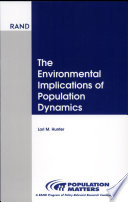 The Environmental Implications of Population Dynamics Book