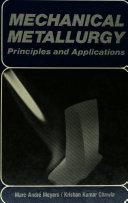 Mechanical Metallurgy
