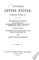 Universal Letter Writer