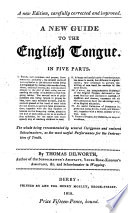 A New Guide To The English Tongue New Ed Carefully Corr And Improved