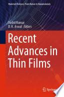 Recent Advances In Thin Films Book PDF