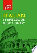 Collins Italian Phrasebook and Dictionary Gem Edition ebook  Collins Gem