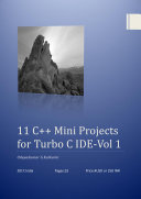 11 C   Mini Projects for Turbo C IDE  Vol 1