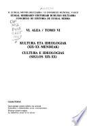 Euskal Herriaren Historiari Buruzko Biltzarra: Kultura eta ideologiak (XIX-XX mendeak)