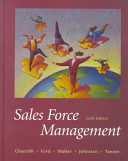 Cover of Sales Force Management