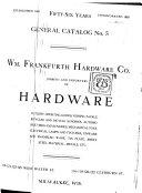 General Catalog No  5