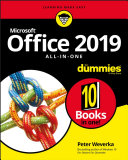Office 2019 All in One For Dummies