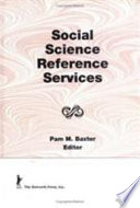 Social Science Reference Services