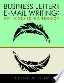 Business Letter and E mail Writing  An Indexed Handbook