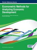 Econometric Methods for Analyzing Economic Development