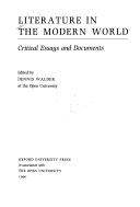 Literature In The Modern World