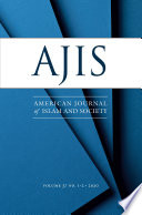 American Journal of Islam and Society  AJIS    Volume 37 Issues 1 2