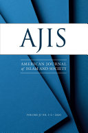 American Journal of Islam and Society   AJIS   37 1 2