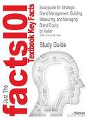 Studyguide for Strategic Brand Management