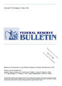 FEDERAL RESERVE BULLETIN    VOLUME 79  NUMBER 5  MAY 1993