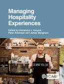 Managing Hospitality Experiences