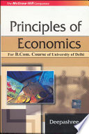 Principles Of Economics  For Delhi University B Com Pass Course