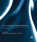 The Sociology of Higher Education Pdf/ePub eBook