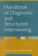 Handbook Of Diagnostic And Structured Interviewing