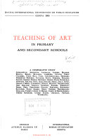 Teaching of Art in Primary and Secondary Schools