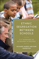 Ethnic Segregation Between Schools