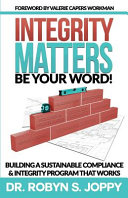 Integrity Matters  Be Your Word