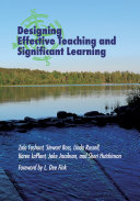 Pdf Designing Effective Teaching and Significant Learning Telecharger
