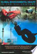 Global Environmental Health in the 21st Century Book