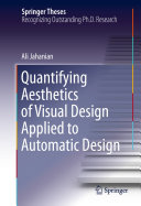 Quantifying Aesthetics of Visual Design Applied to Automatic Design