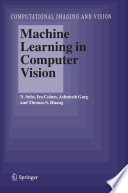 Machine Learning in Computer Vision Book