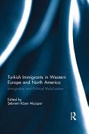 Turkish Immigrants in Western Europe and North America Pdf/ePub eBook