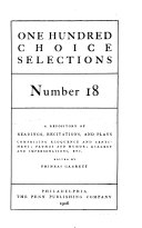 One Hundred Choice Selections