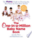 Read Online The One-in-a-million Baby Name Book For Free
