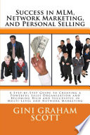 Success In Mlm Network Marketing And Personal Selling