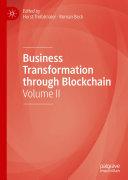 Business Transformation through Blockchain [Pdf/ePub] eBook