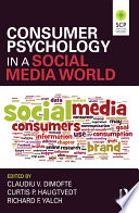 Consumer Psychology In A Social Media World Book PDF