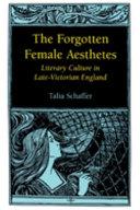 The Forgotten Female Aesthetes