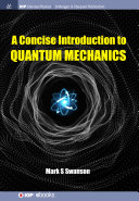A Concise Introduction to Quantum Mechanics Pdf/ePub eBook