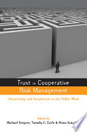 Trust in Risk Management Book