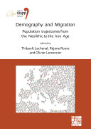 Pdf Demography and Migration Population trajectories from the Neolithic to the Iron Age Telecharger