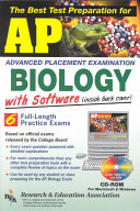 The Best Test Preparation for the Advanced Placement Examination, Biology