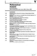 SIAM Journal on Mathematical Analysis