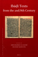 Ib        Texts from the 2nd 8th Century