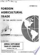 U.S. Foreign Agricultural Trade by Countries, Calendar Year