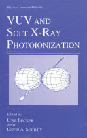 VUV and Soft X Ray Photoionization
