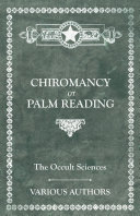 The Occult Sciences   Chiromancy or Palm Reading